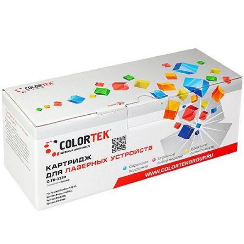 Картридж Colortek CT-TK3130 для Kyocera EcoSys-M3550, Kyocera EcoSys-M3560, Kyocera FS-4200, Kyocera FS-4300, черный, 25000 стр