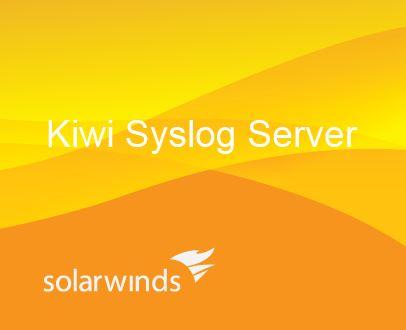 SolarWinds Kiwi Syslog Server Single Install 12 Month Maintenance Renewal