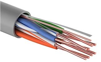 Кабель витая пара UTP 5e кат. 4 пары PROconnect 01-0052-50