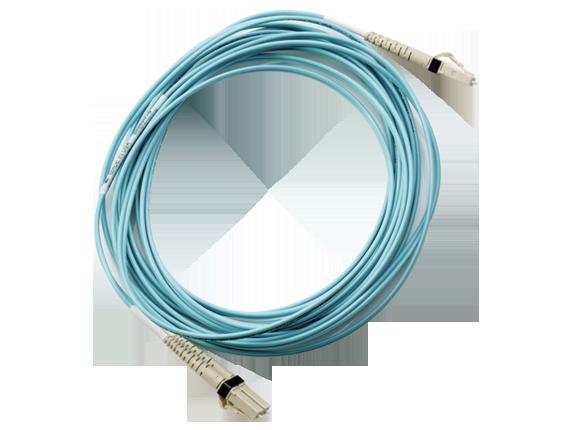 HP 1m Multi-mode OM3 LC/LC FC Cable (AJ834A)