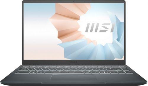 Фото - Ноутбук MSI Modern 14 B11SB-414RU 9S7-14D214-414 i5-1135G7/16GB/512GB SSD/14 FHD IPS AG/nVidia MX450 2GB/carbon grey/Win10Home ноутбук msi stealth 15m a11sdk 032ru 9s7 156211 032 grey