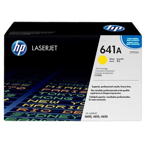 Картридж HP 641A C9722A для принтера color LaserJet 4600 yellow