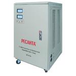Ресанта Стабилизатор Ресанта АСН-30000/1-ЭМ (63/3/3) мощность 30000 Вт; вх/вых напряжение 140-260 В/216-224 В; скор стабилизации 10 В/с; точн стабилизации 2% (Ресанта АСН-30000/1-ЭМ)