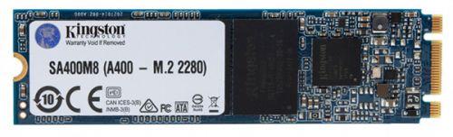 Накопитель SSD M.2 2280 Kingston SA400M8/240G A400 240GB SATA3 500/350MB/s TLC MTBF 1M ssd накопитель kingston a400 sata iii 240gb 2 5 sa400s37 240g