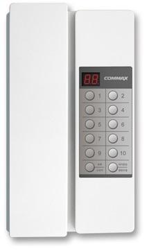 Переговорное устройство COMMAX TP-90RN совместим с TP-90AN Переговорное устройство до 90 абонентов, раздельный и общий вызов, связь