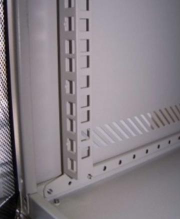 Направляющая TWT TWT-CBWL-PR-12U для шкафов Lite, дополнительная (2 шт.), 12U 0 pr на 100