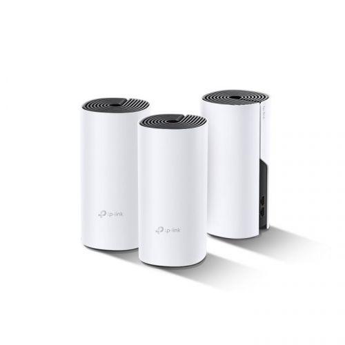 Фото - Точка доступа TP-LINK Deco P9(3-Pack) HomePlug AV, BT 4.2, 2 гигабитных порта, бесшовный роуминг, Ethernet+PLC+WiFi, HomeCare (родительский контроль, a1sj71ar21 cc link plc