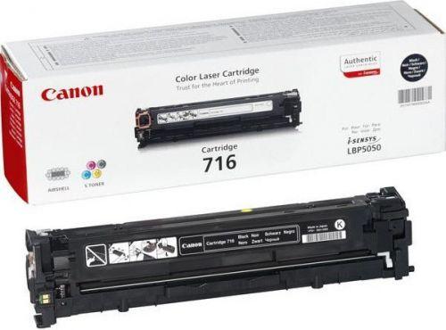 Картридж Canon 716Bk 1980B002 для LBP5050, LBP5050n, MF8030Cn, MF8040Cn, MF8050Cn, MF8080Cw