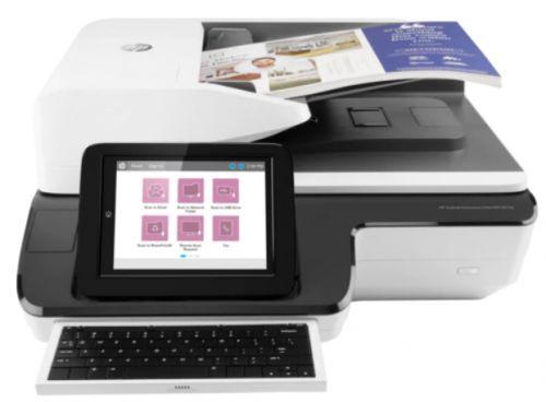 Документ-сканер планшетный HP Enterprise Flow N9120 fn2 L2763A A3, 600x600 dpi,24 bit, USB, ADF 200 sheets, 120ppm A4, Duplex