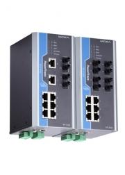Коммутатор управляемый MOXA PT-510-4M-ST-48 DIN-Rail switch, 6 x 10/100BaseT(X), 4 100BaseFX MM, ST connectors, 1 power su