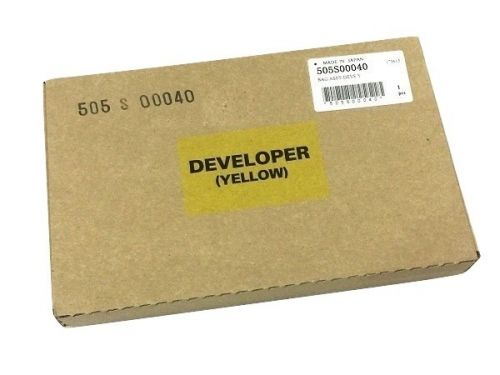 Девелопер Xerox 505S00040 Versant 80/2100 Press желтый 55K