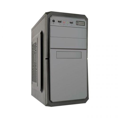 Корпус mATX Exegate BA-202 EX284024RUS черный, 400W с вент. 8см, 2*USB, аудио