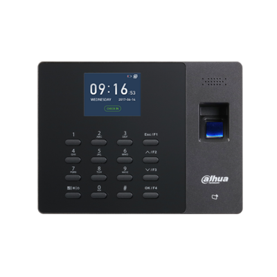 Терминал Dahua DHI-ASA1222G учета рабочего времени, 32-битный процессор, до 2600 мАч, карты Mifare/ID-карты 1 см – 3 см