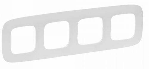Рамка Legrand 754304 Valena ALLURE 4-ая (белая)