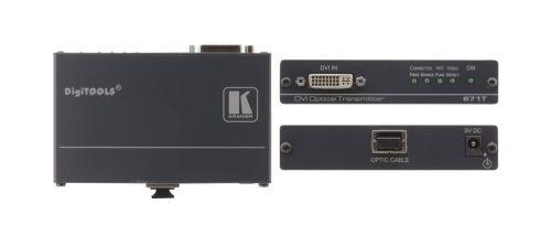 Передатчик Kramer 671T 90-70793190 сигнала DVI по оптоволоконному кабелю