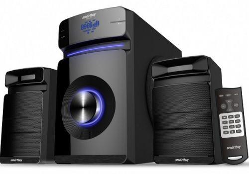 Акустическая система 2.1 SmartBuy MAJESTY SBS-930 60Вт, Bluetooth, MP3, FM, ПДУ, черная