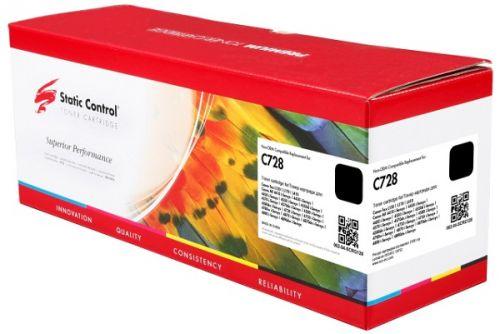 Картридж Static Control 002-04-SCRG128 черный (2100стр.) для Canon i-Sensys MF4410/4430 (С728)