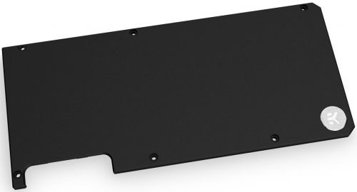 Панель EKWB EK-QuantumVectorRTX3080/3090Backplate-Black водоблока задняядлявидеокартыRTX3080/3090