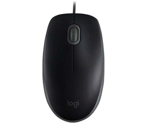 Фото - Мышь Logitech B110 SILENT 910-005508 black, USB мышь logitech b220 silent black беспроводная 910 004881