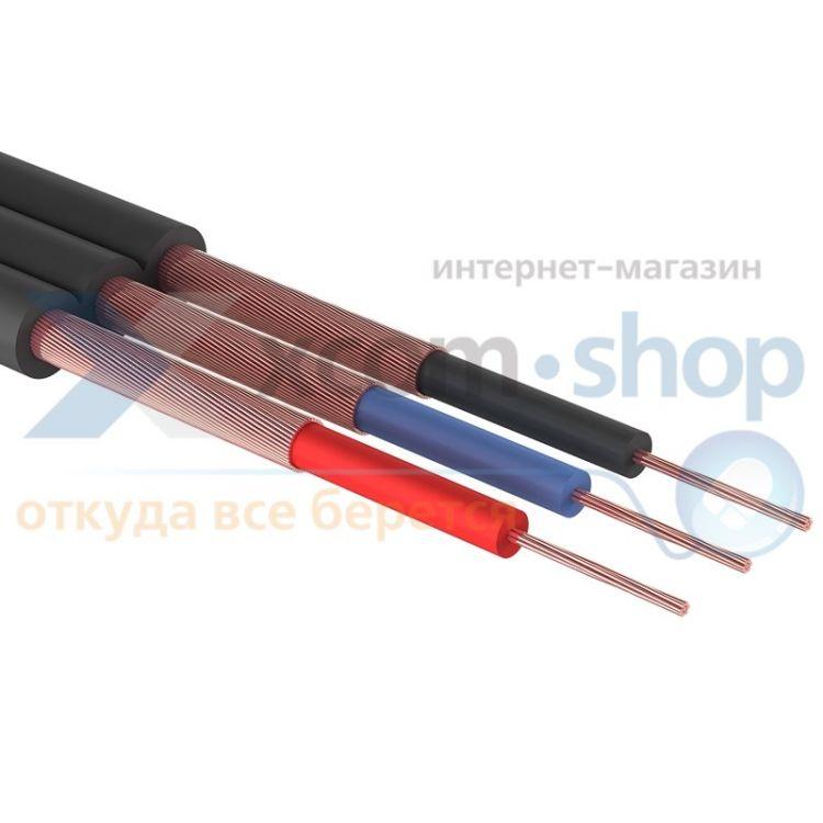 PROCONNECT ШГЭС, 3 жилы, плоский, черный, 100 м., L