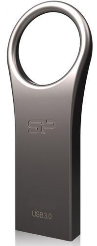 Фото - Накопитель USB 3.0 8GB Silicon Power Jewel J80 SP008GBUF3J80V1T серебристый накопитель usb 3 0 8gb silicon power jewel j08 sp008gbuf3j08v1k черный