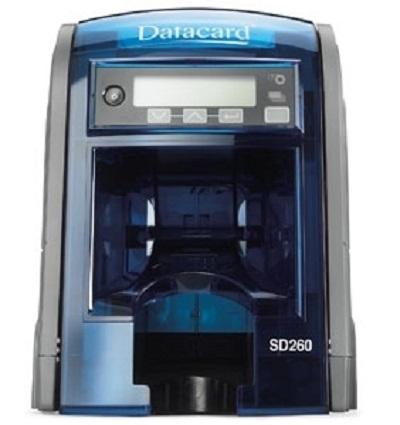 Принтер для печати пластиковых карт Datacard SD260 535500-002 300 dpi, Simplex, 100-Card Input Hopper