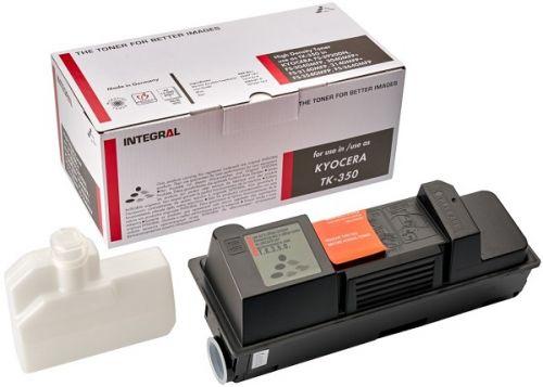 Тонер-картридж Integral TK-350 Chip 12100038 Kyocera FS 3920DN, FS 3040MFP, 3040MFP+, FS 3140MFP+, 3140, 3540, 3640MFP 15000 страниц, 450 g C