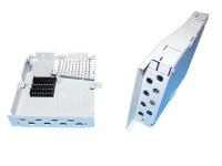 Бокс настенный Vimcom НКРУ-A8-Мини-LC 4AD-LC-SM+4PT-SM-LC-1 на 8 портов LC SM (9/125) (пигтейлы + проходные адаптеры)