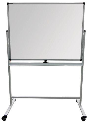 Доска BRAUBERG 236852 для мела/магнитно-маркерная, на стенде 90х120 см, 2-сторонняя, зеленая/белая