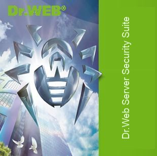 Dr.Web Server Security Suite, ЦУ, 9 ФС, 1 год
