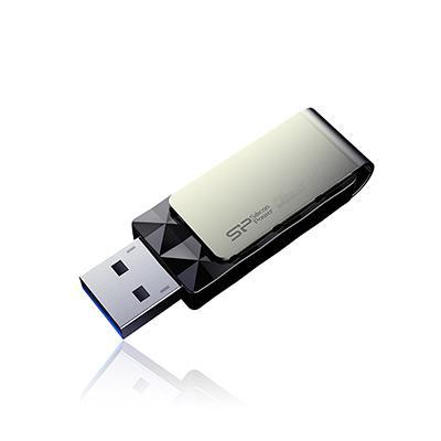Фото - Накопитель USB 3.0 8GB Silicon Power Blaze B30 SP008GBUF3B30V1K черный/серебристый накопитель usb 3 0 8gb silicon power jewel j08 sp008gbuf3j08v1k черный
