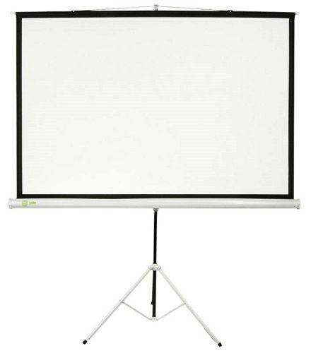 Экран Cactus CS-PST-150X150 Triscreen 1:1 напольный рулонный белый