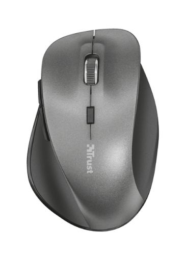 мышь trust varo wireless ergonomic mouse black usb Мышь Wireless Trust Ravan USB, 800-1600dpi, black
