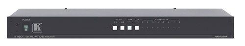 Усилитель-распределитель Kramer VM-28H 11-70753020 1:8 сигнала HDMI с коммутатором 2x1
