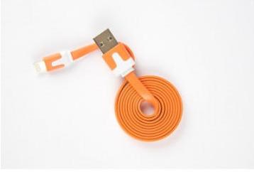 Кабель интерфейсный Red Line USB-Lightning УТ000010097 для Apple (lite), оранжевый кабель red line usb – apple lightning white