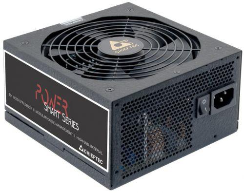Блок питания ATX Chieftec GPS-650C 650W aPFC, 140mm FAN, модульный, 80Plus GOLD, Ret