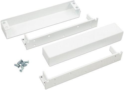 Комплект ALer MK AL-700S белый, для установки замков AL-700SH, AL-700SV в накладном варианте