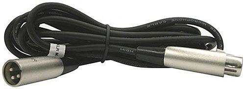 Кабель Inter-M XLR (штекер) - XLR (розетка) MC-093/5 (корд микрофонный), 5 м