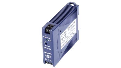 Преобразователь AC-DC сетевой TDK-Lambda DPP15-24 15 Вт; 24 В / 0,63А; на DIN рейку