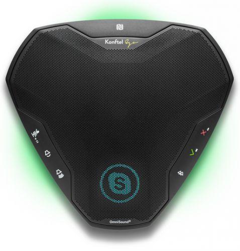 Спикерфон Konftel EGO подключение Bluetooth/NFC/профиль A2DP, USB, jack 3.5мм, аккумулятор, ЖК-дисплей 1.77