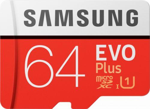 Фото - Карта памяти 64GB Samsung MB-MC64HA/RU microSDXC Samsung EVO Plus UHS-I U1 Class 10 RTL карта памяти samsung 64gb evo plus v2 microsdxc class 10 u1 sd adapter mb mc64ha