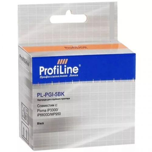 Фото - Картридж струйный ProfiLine PL-PGI-5BK-Bk PL_PGI-5PGBK_BK Картридж PL-PGI-5BK для принтеров Canon Pixma iP3300/iP6600D/MP950 Black с чипом водн ProfiL картридж profiline pl