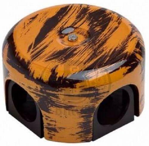 Коробка Bironi B1-521-DS распределительная, дух старины, 78мм