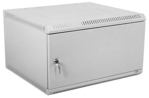 Шкаф настенный 19, 9U ЦМО ШРН-Э-9.350.1 телекоммуникационный разборный (600х350) дверь металл