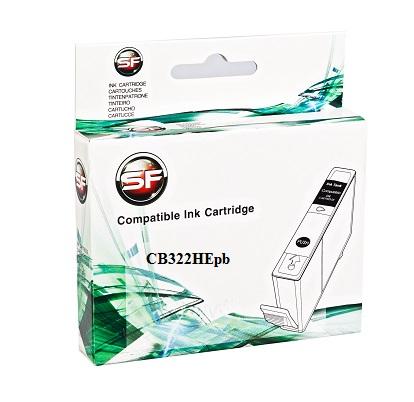 Картридж SuperFine SF-CB322HEpb для HP photo black HP PhotoSmart B010b / B109 / B109c / B110 / B110b / B8553 / C5383 / C6383 / D5460 / D5463 / D5468