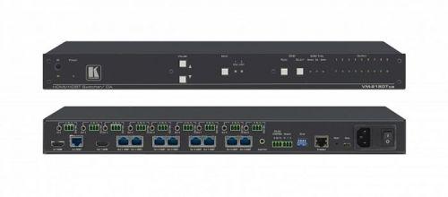 Усилитель-распределитель Kramer VM-218DTXR 10-80432030 2х1:8 HDMI и HDBaseT с увеличенным расстоянием передачи , передача Ethernet, RS−232, ИК и сте