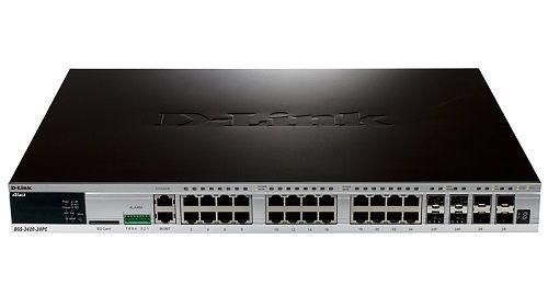 DGS-3420-28PC Коммутатор PoE D-link DGS-3420-28PC