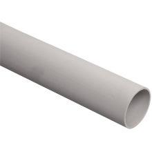 Труба жёсткая IEK CTR10-063-K41-015I D63 (3м) легкая ПВХ серая, 3м