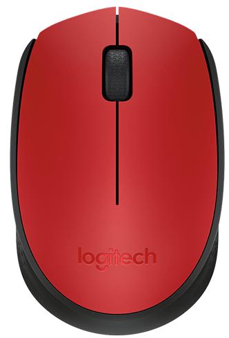 Мышь Wireless Logitech M171 910-004641 red-black, USB, 1000dpi мышь logitech g g604 black wireless черный