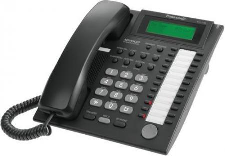Системный телефон aналоговый Panasonic KX-T7735RUB для KX-TE и KX-TDA